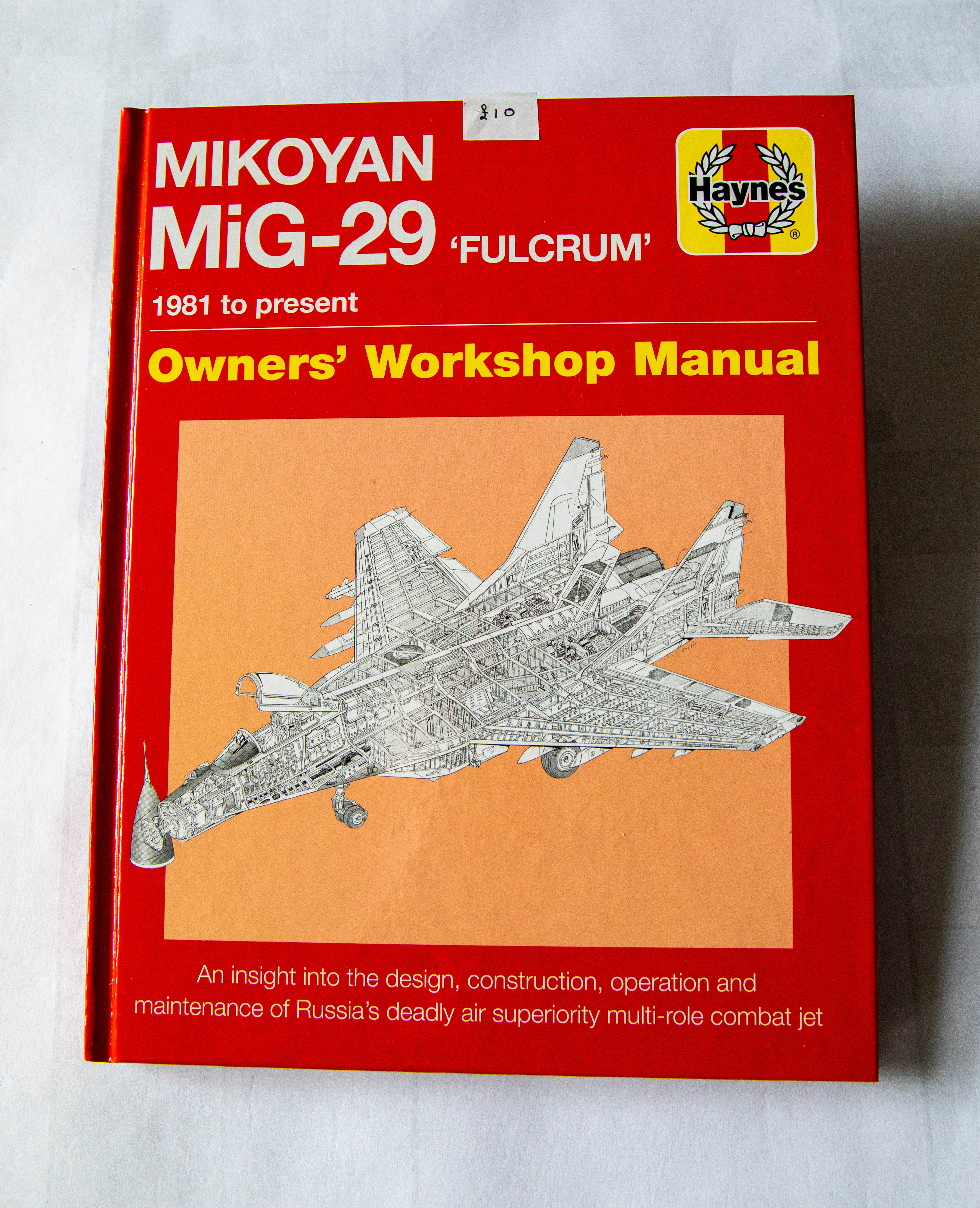Mikoyan MiG-29 Fulcrum Owners Workshop Manual