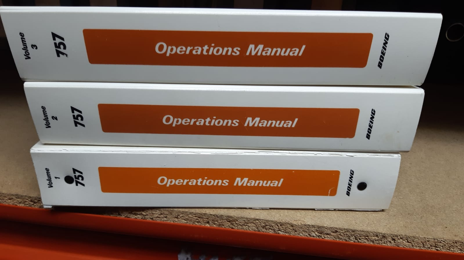 Airtours International  B757 Operations Manuals